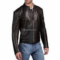 Cool And Stylish Men Leather Biker Jacket