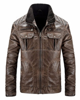 Men's Fall & Winter Fashion Sheep Leather Jackets Made In Pakistan