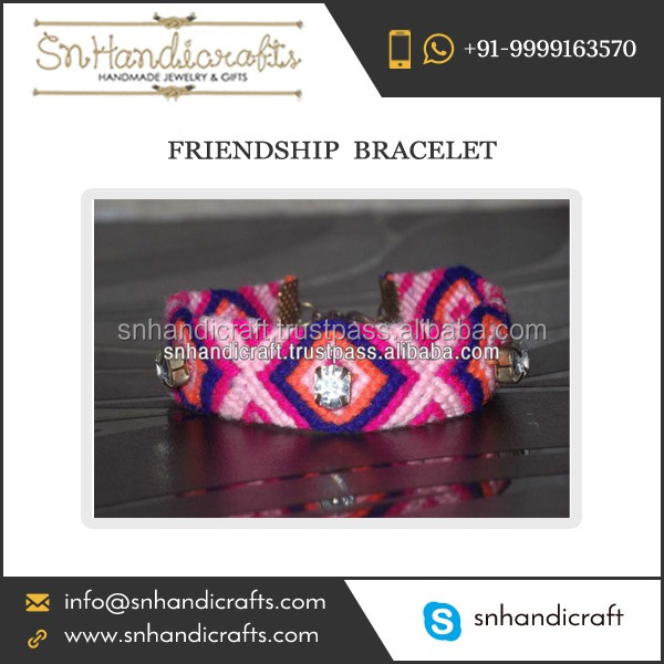 Quality Material Made Friendship Bracelet from Leading Artisans
