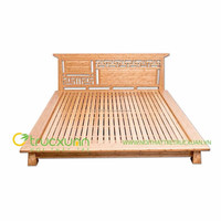 Bamboo Bed Frame with the best price