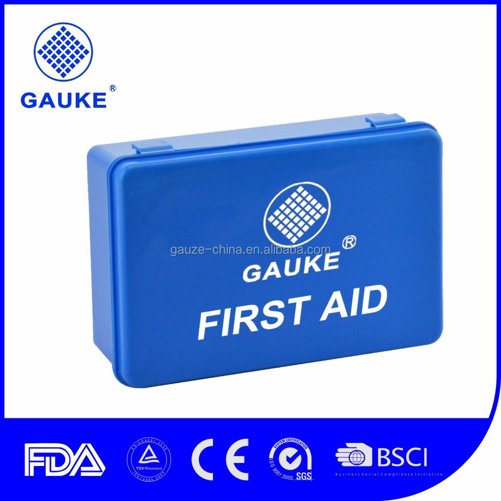 DIN13164 European Specification First Aid Kit Box for 10 Persons Used in the Car Emergency Area