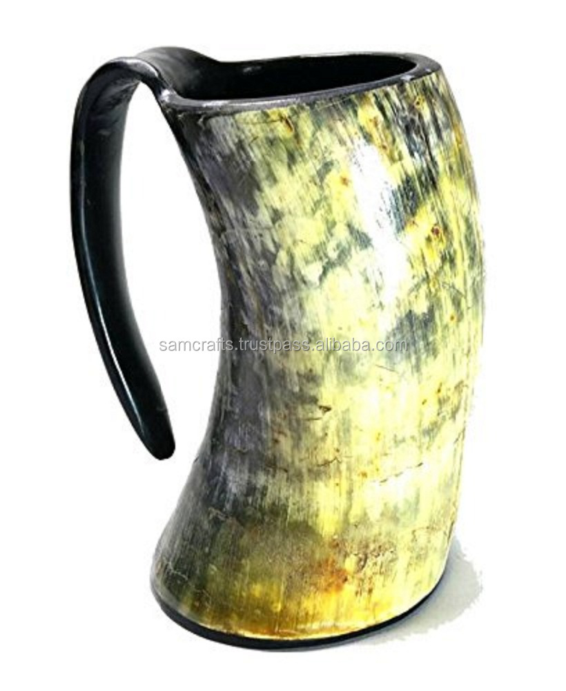 Natural Buffalo Horn Mugs /Tankard