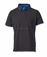 Top quality Men polo with customized printed logo shirts for men polo shirt