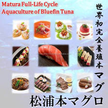 Matsuura bluefin tuna will be featured product of mobile sushi bar done in food truk.