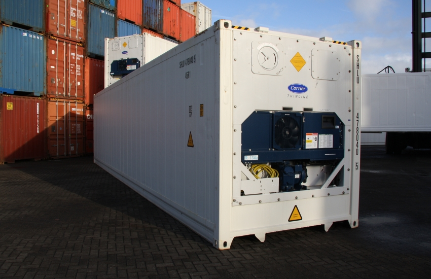 Used Shipping Container 40ft and 20ft Simple/Refrigerated