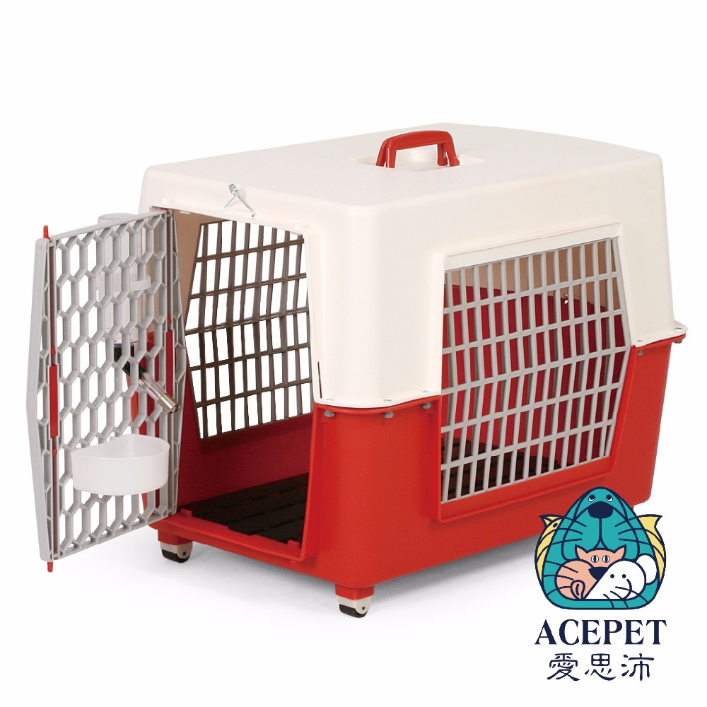 high qual new premium four wheels Pet Transport Box Small Animals Travel carrier cage