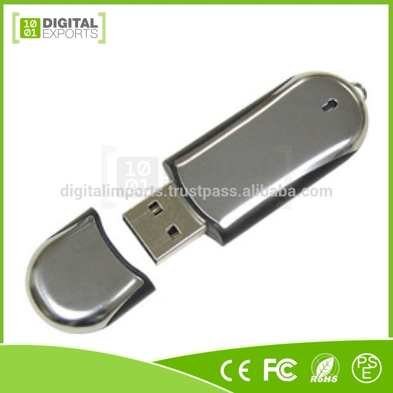 Laser logo Metal 64gb Flash Drive