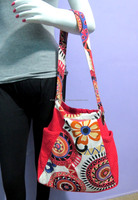 New Fashion Elegant Print Womens Shoulder Bag Hot Red and White Color Bags