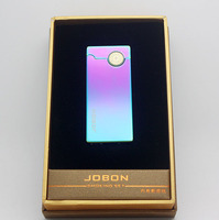 Jobon USB Lighter Heating Cable Rechargeable Flameless No Oil With Gift Box