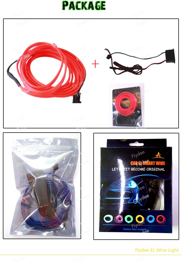 Super Bright El Products/el Wire Electroluminescent Led Light Cable ...