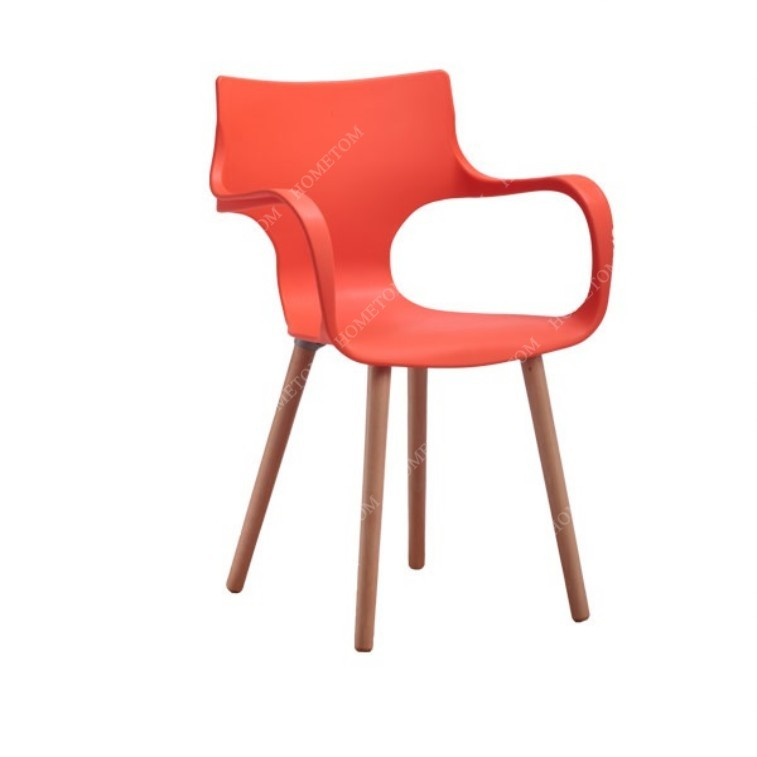 plastic seat and wooden legs garden chair view wooden garden chair