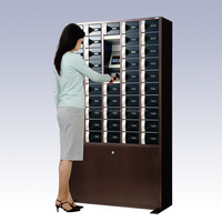 High-grade and Innovative Vein authentication / RFID / PIN locker for Laboratory and office