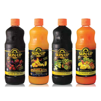 Sun Up & Gold Mixed Fruit & Vegetable Drink Base Concentrate