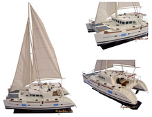 WOODEN LAGOON 500 CATAMARAN PRICE SAILING BOATS/ WOODEN SAILING BOATS/ SHIP MODEL