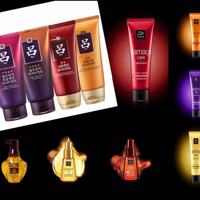 Ryo&Mise En Scene Korea OEM best essence hair brand Shampoo Treatment hair Essence oil cream