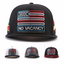 [P700-P702-1] NEON VACANCY 5 all panel have embroidered image letter snapback cap for wholesale