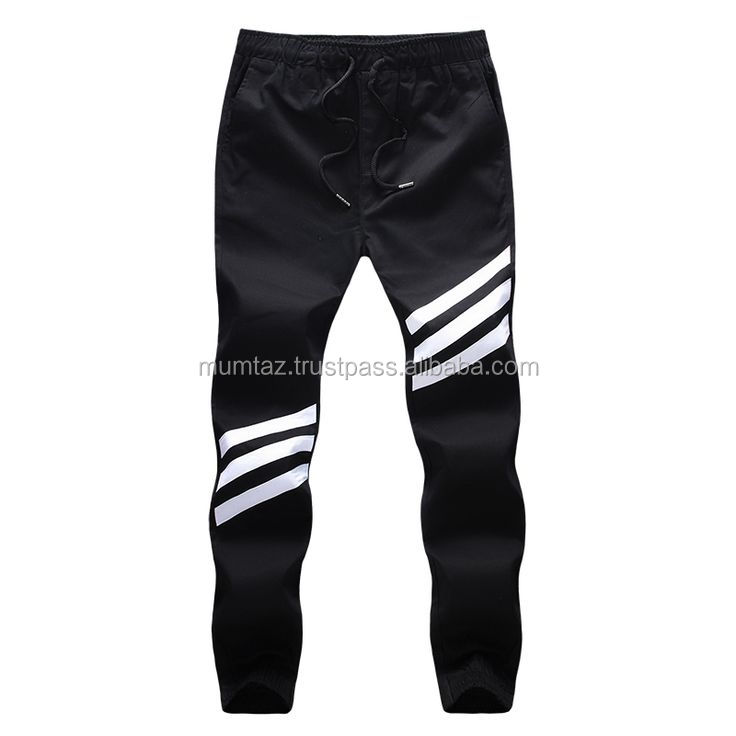 French Trerry Sublimated Custom Men Casual Trousers/Ladies New Fashion Jeans Cotton Print Long Trousers