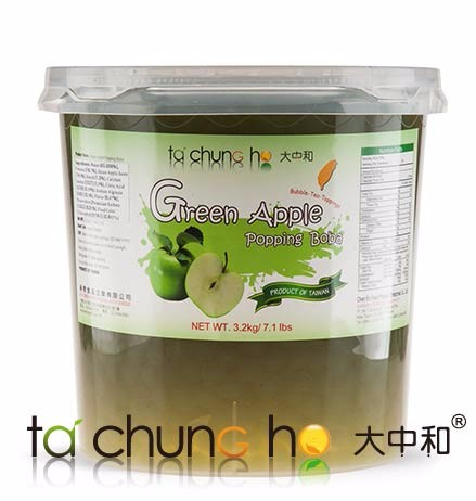 ISO Wholesale Taiwan 3kg TachunGho Green Apple Popping Boba