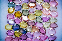 Natural Ceylon Sapphires |Mixed sizes| 5X4mm| 68 Stones| 20.10 CTs