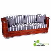 Living room Artdeco Sofa Three Seater furniture