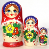 Unique Russian Matryoshka Dolls