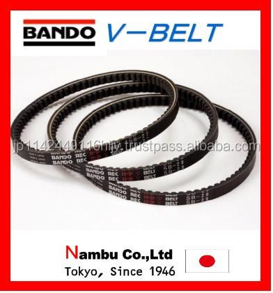 Highly-efficient and Premium bando red SII agricultural v-belts for industrial use ,Various types also available