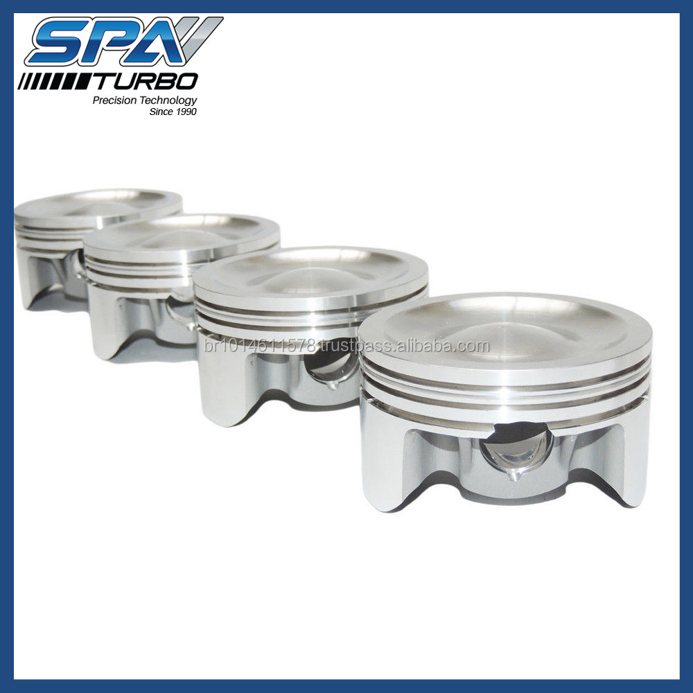 VW 3A 2.0L 8V 83.50mm dish top forged pistons for 149mm rods