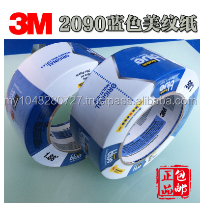 3M2090 blue masking tape test tape
