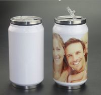 Sublimation 350ml Stainless Cola Bottle