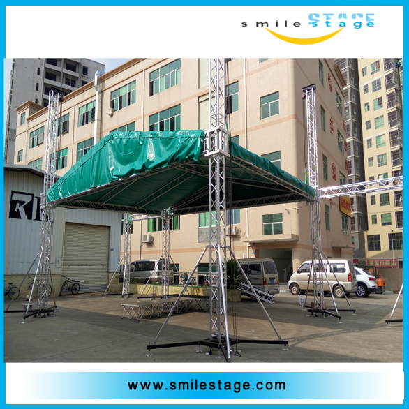 2016 new project crank stand for event lighting truss steel structure truss purlin