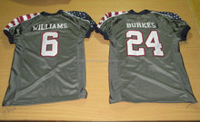 Good Quality American Football Fan shrit sublimation shoulder