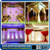 metal drapery curtain transparent marquee party wedding tent