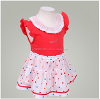 Korea Babyprime Summer Baby Girl Clothing, Lail 2pcs