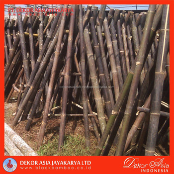 Black Bamboo Poles for Bamboo Fences and Bamboo Panels