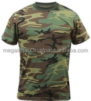 custom design blank sublimation printing camo t shirts wholesale