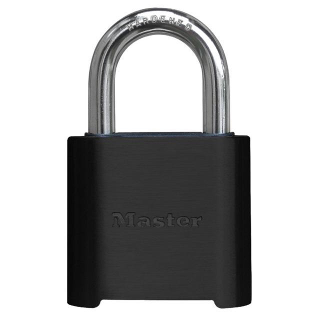 "Master Lock 878DCOM, 2"" Wide 4-Digit Resettable Combination Padlock"