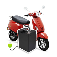 2016 NEW Energy Saving Electric Scooter Italian Design EEC Approved (PEDA MOTOR)