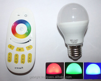 Android or IOS APP Remote Controlling Smart LED Bulb E27, 3W-9W Optional, Dual White or RGBW Available