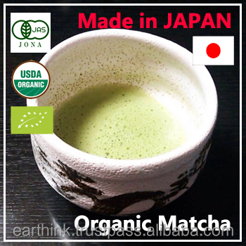 Traditional japan drinks High quality JAS 100% organic japanese matcha green tea powder bag 30g[Second grade]