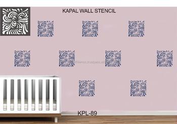 Decorative Wall Stencil 0035 Buy Cappuccino Decorating