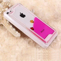 IMPRUE Liquid Dynamic Clear hard case for iphone 5c