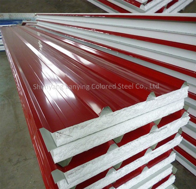 ribbed sandwich wall panels and roof panels