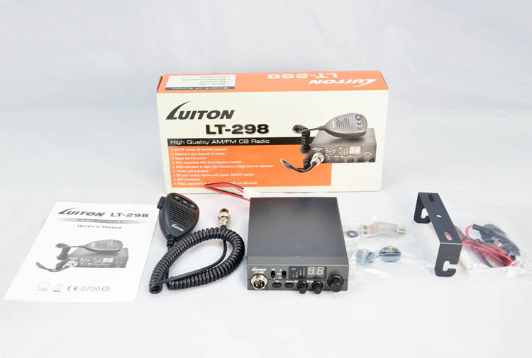 set SAQ on Microphone LT-298 luiton am/fm cb radio 27 mhz