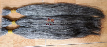 Vietnamese Virgin hair Body Wave 1B/Grey Human Hair Weaves for extension 3pcs 7A Cheap virgin human Gray Hair