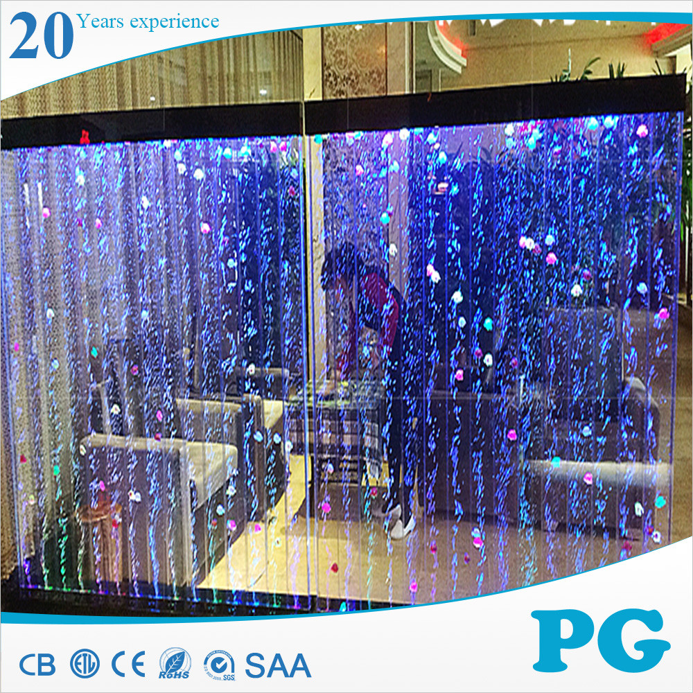 PG USA Hot Sale Stylish Office Water Feature Bubble Wall