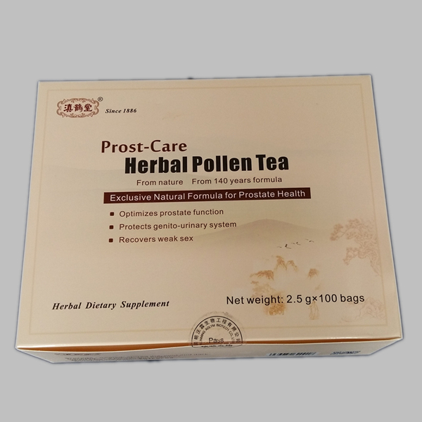enlarged prostate treatment medicine, pollen tea is the best choice