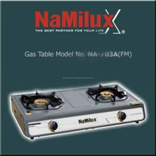 Namilux Double Gas Cooker NA-703AFM/GAS COOKER/ KITCHEN APPLIANCE