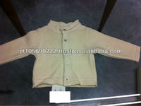 Botton down Baby knitted cardigan