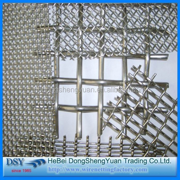 Low Price Quarry Screen Crimped Mesh/ Galvanized Crimped Wire Mesh china supplier/Crimped Wire Mesh In Stock
