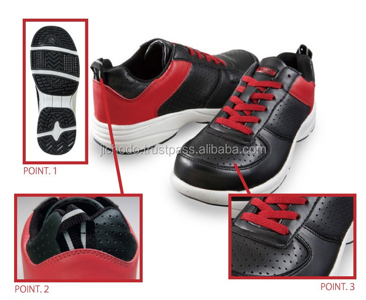 Lightweight footwear / safety footwear ( strings ) at appealing prices. Made by Japan